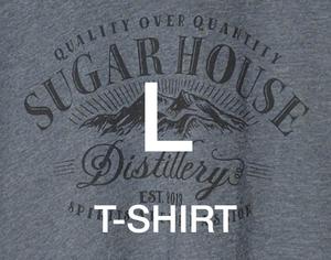 Cotton T-Shirt Short Sleeve - LARGE